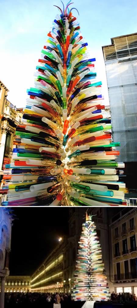 8 El arbol mas grande de cristal de murano-Italia