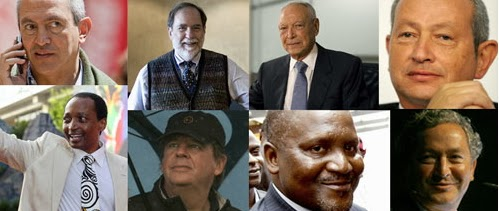 african billionaires list 2013