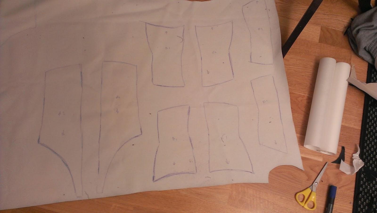 Chrix Design: Morrigan corset