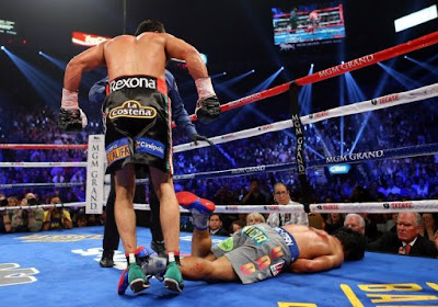 Juan Manuel Marquez knocked out Manny Pacquiao in sixth round