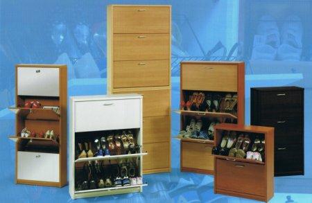 Muebles para zapatos en el dormitorio ideas para decorar for Muebles para colocar zapatos