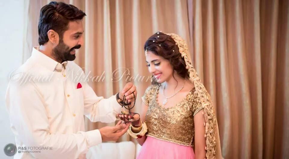 celebrity weddings sonya hussain and wasif muhammads