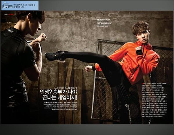 kedai kpop my   magazine  men u0026 39 s health mar 2015 issue  lee gi kwang beast