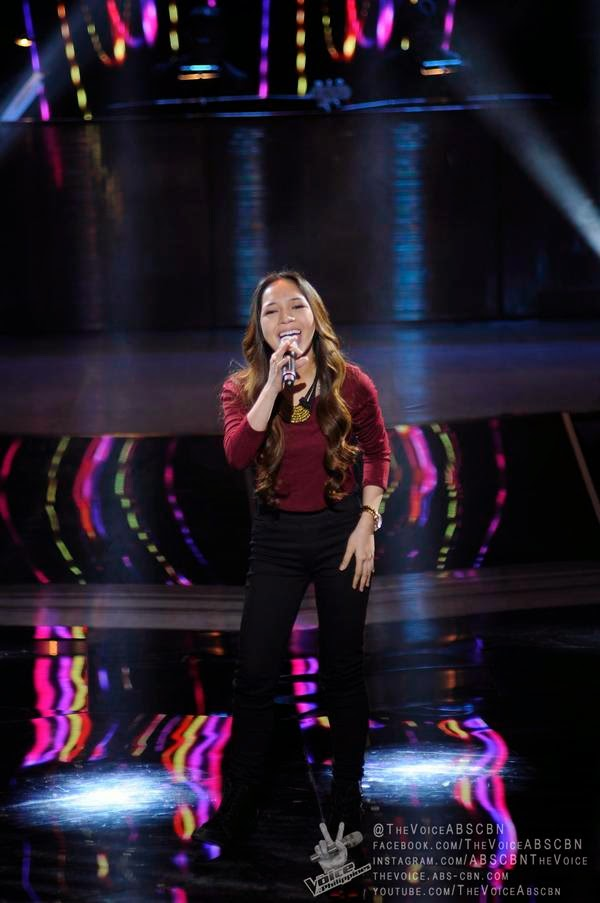 Shaira Opsimar sings 'Mama Knows Best' on 'The Voice PH'