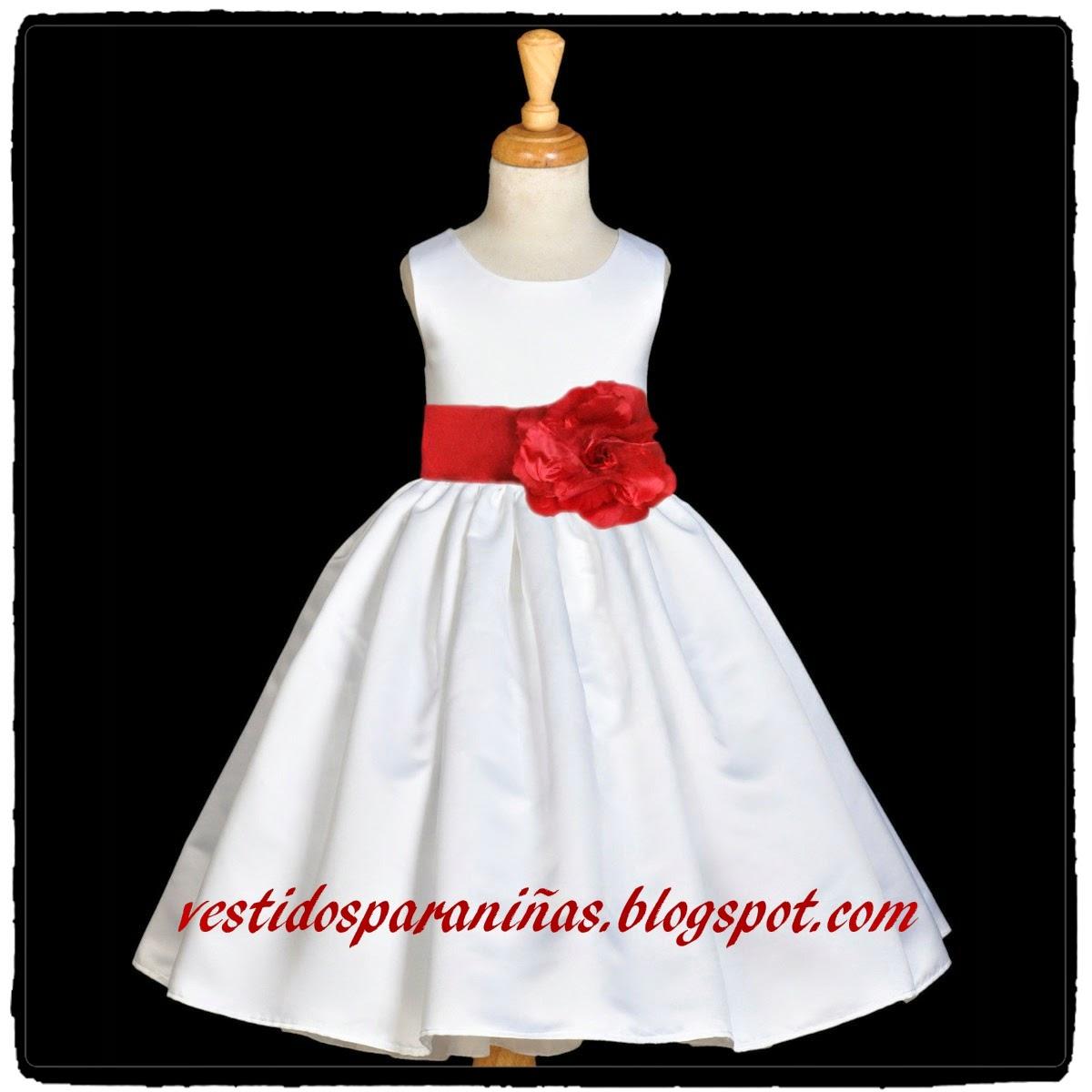 vestidos dulces y elegantes para niños