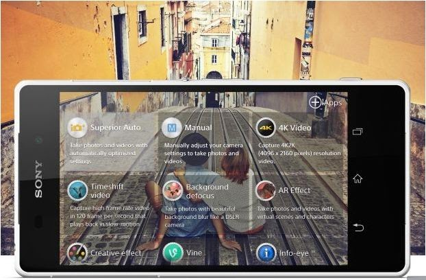 product review Smartphone Sony Xperia Z2