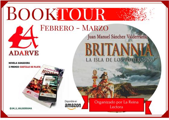 Book tour Britannia