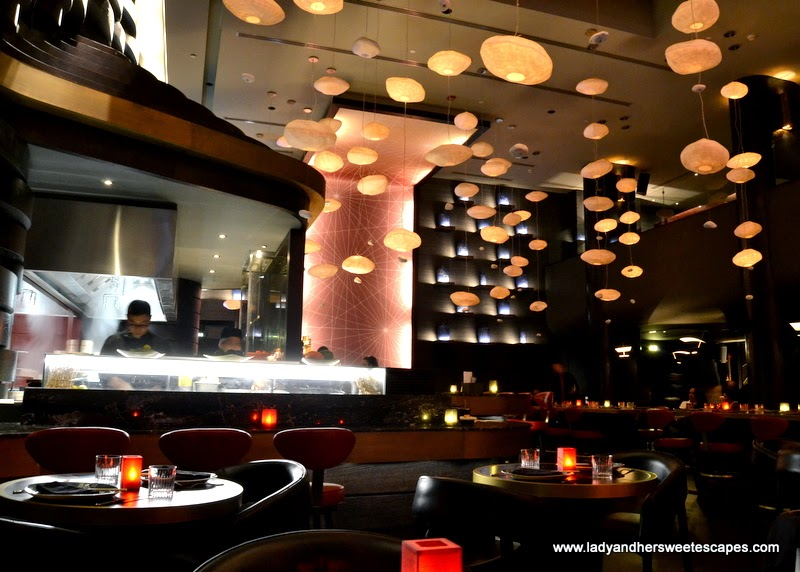 sleek and classy restaurant at The Westin Dubai