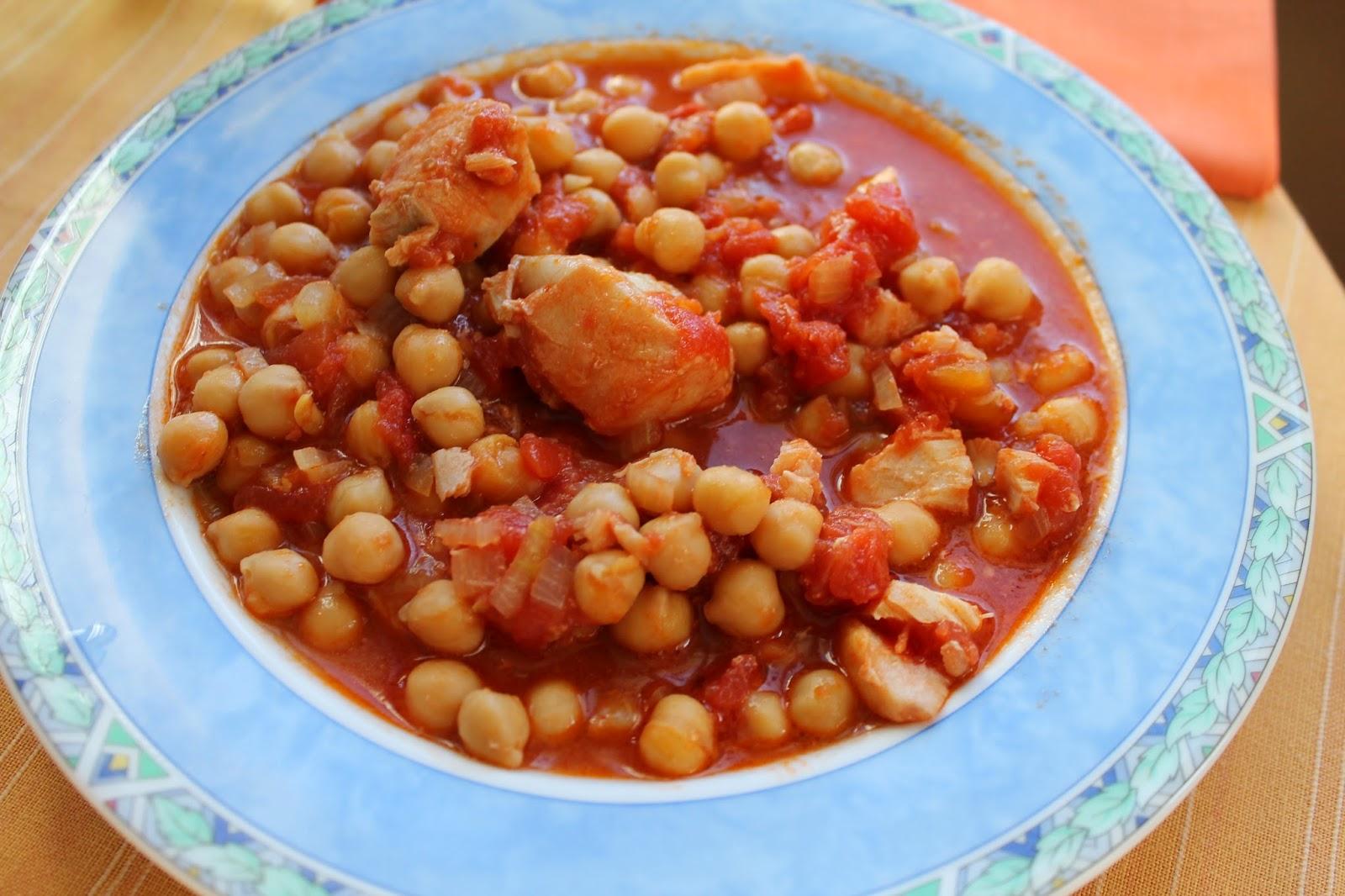 Mam en la cocina potaje de garbanzos con bacalao y tomate - Potaje de garbanzos con bacalao ...
