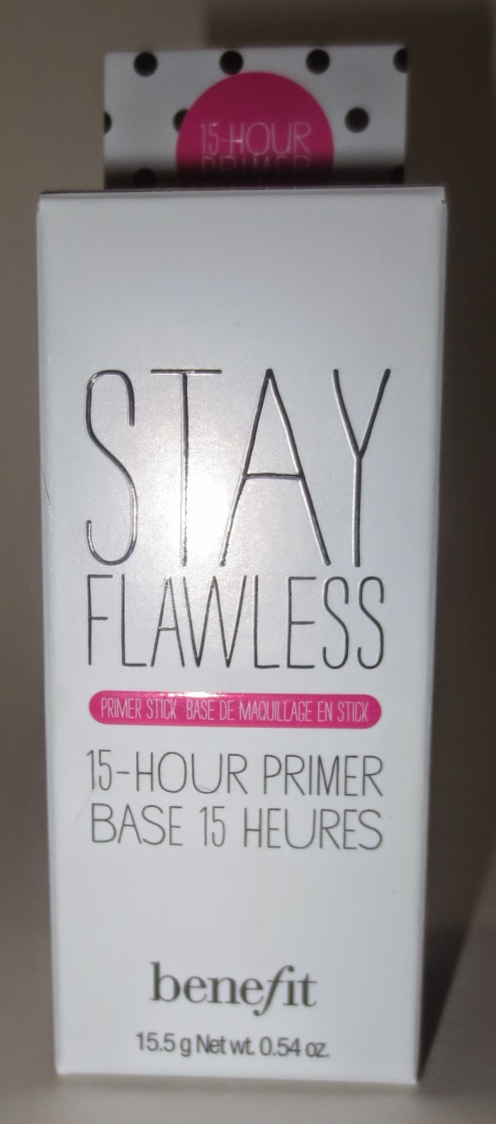 Benefit Stay Flawless 15 - Hour Primer Packaging