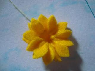 Hima Rain: Cara Membuat Bunga Matahari dari Kain Flanel (Edisi Terbaru
