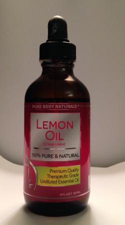 Pure Body Naturals Lemon Oil