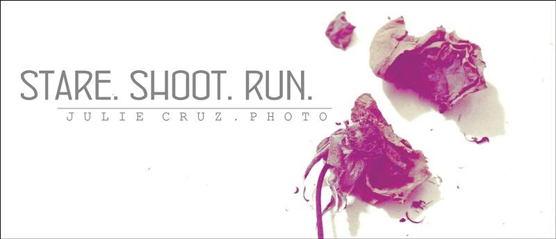 STARE. SHOOT. RUN