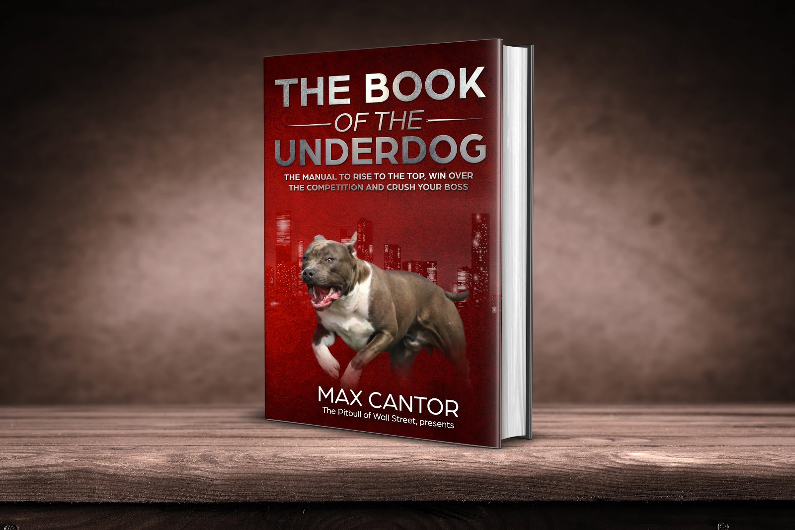 The BOOK OF THE UNDERDOG  is Out