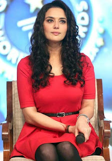 Preity Zinta back with permed locks