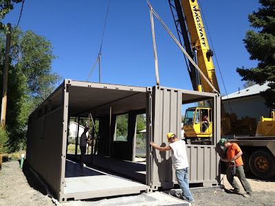 2x 40ft Shipping Container Home, - Sarah House Project, - Glendale ...