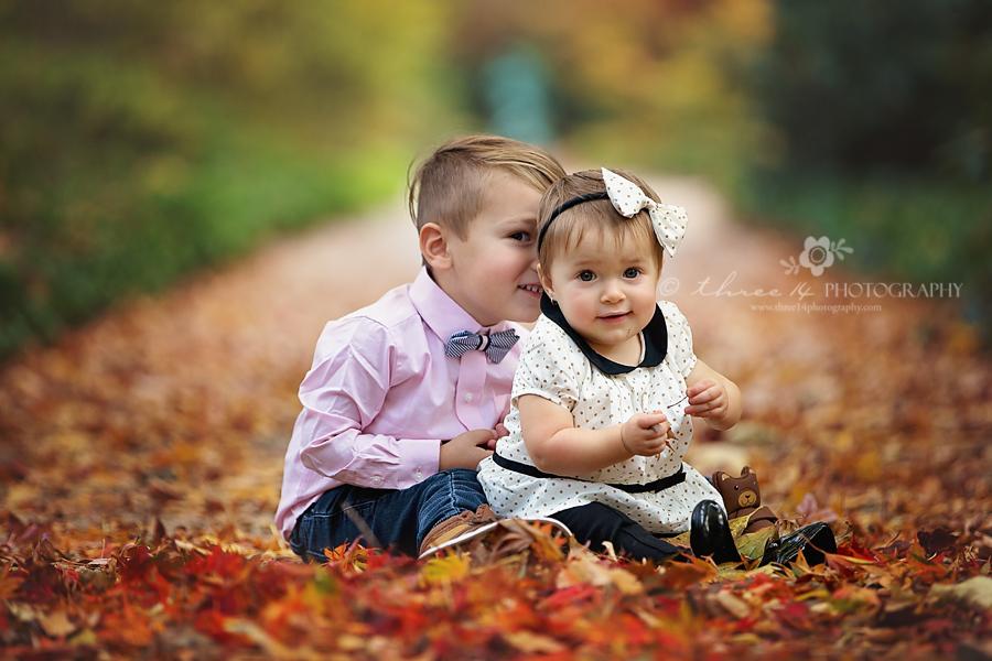 Lovely Fall Children Photos