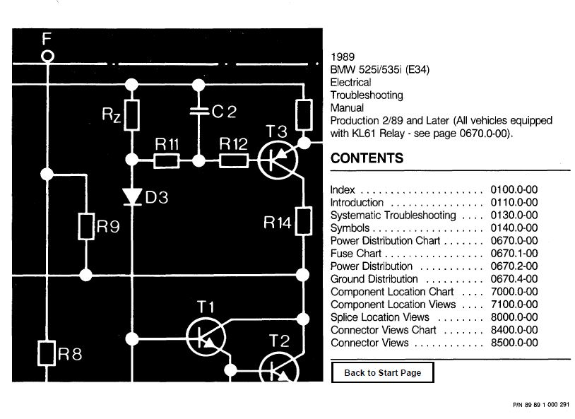 E34 Wiring Diagram Pdf - Circuit Connection Diagram •