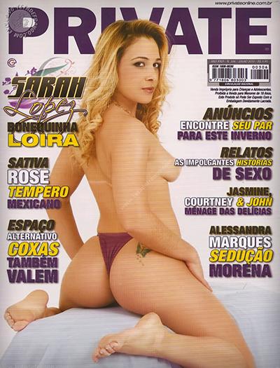 baixar Revista Private - Sarah Lopez download