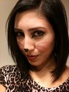 makeup tutorial: easy halloween cat makeup.