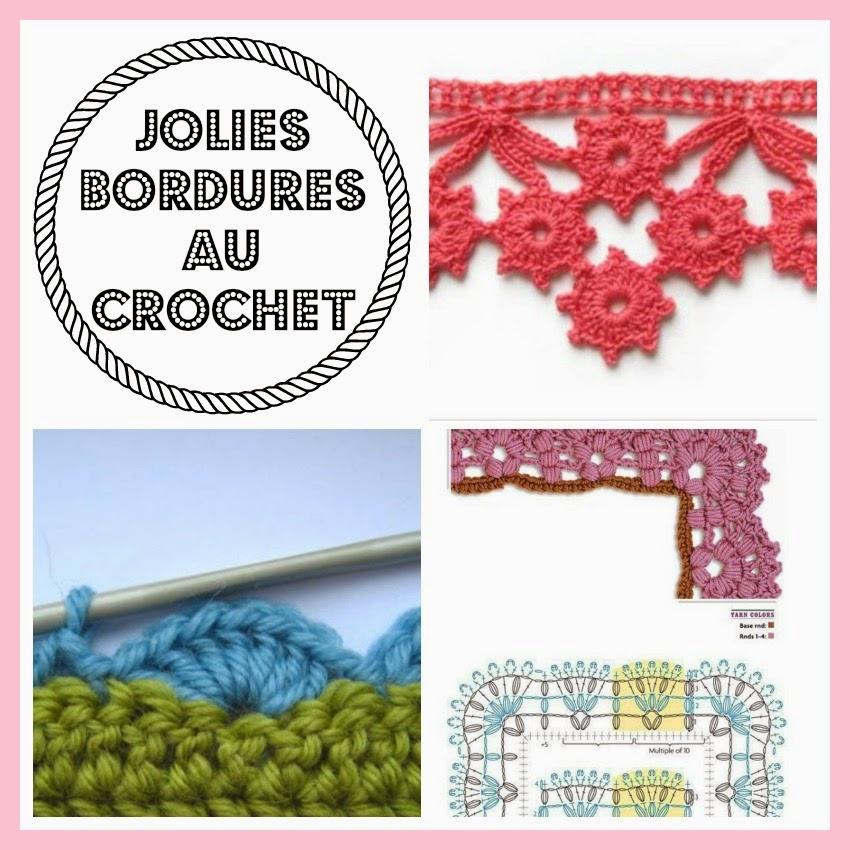 mes favoris tricot crochet 11 bordures au crochet. Black Bedroom Furniture Sets. Home Design Ideas