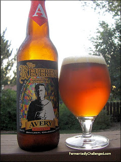 Avery The Reverend Belgian Quad