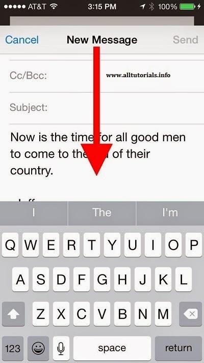 inbox mail iPhone