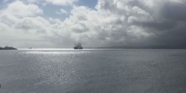 Crew rescued after ferry capsizes in Fiji