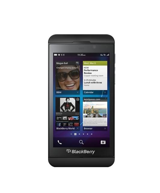 Harga Spesifikasi BlackBerry Z10 Laguna Di Indonesia