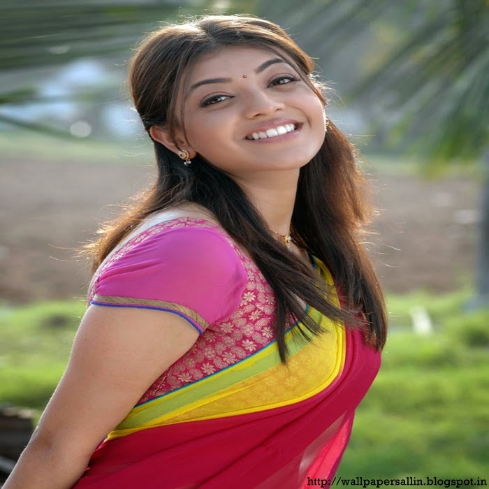 kajal agarwal photos in saree