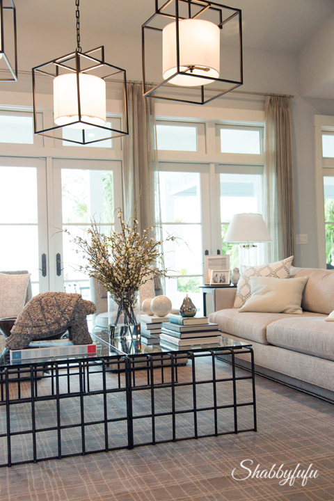 Another View Of The Furniture In The Living Room Of The HGTV Dream Home 2016