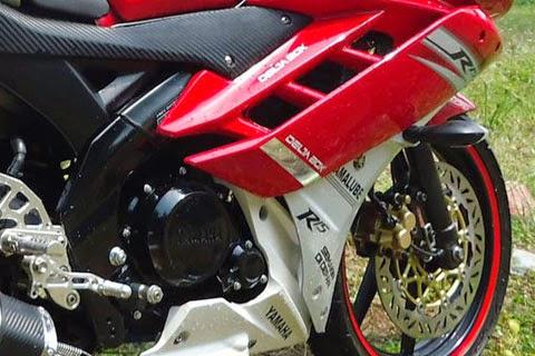 Modifikasi Tampilan New Vixion Jadi R15