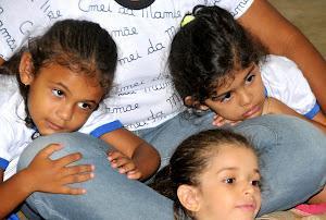 Aqui o bem estar e o desenvolvimento da criança é primordial!