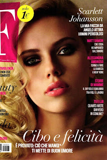 Scarlett Johansson F Magazine Covershoot