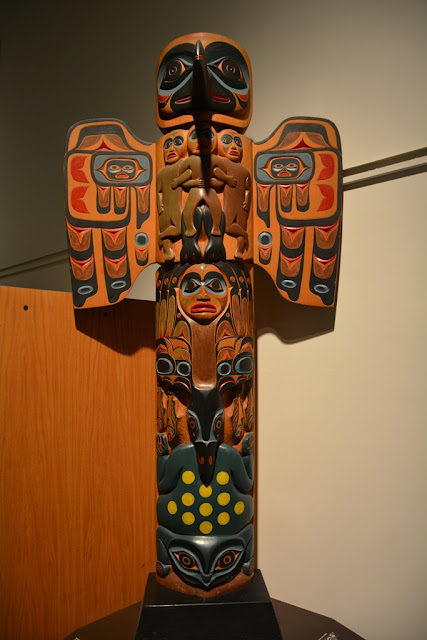 Museum of the North Fairbanks totem