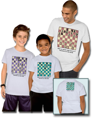 Chess Puzzle T-Shirts
