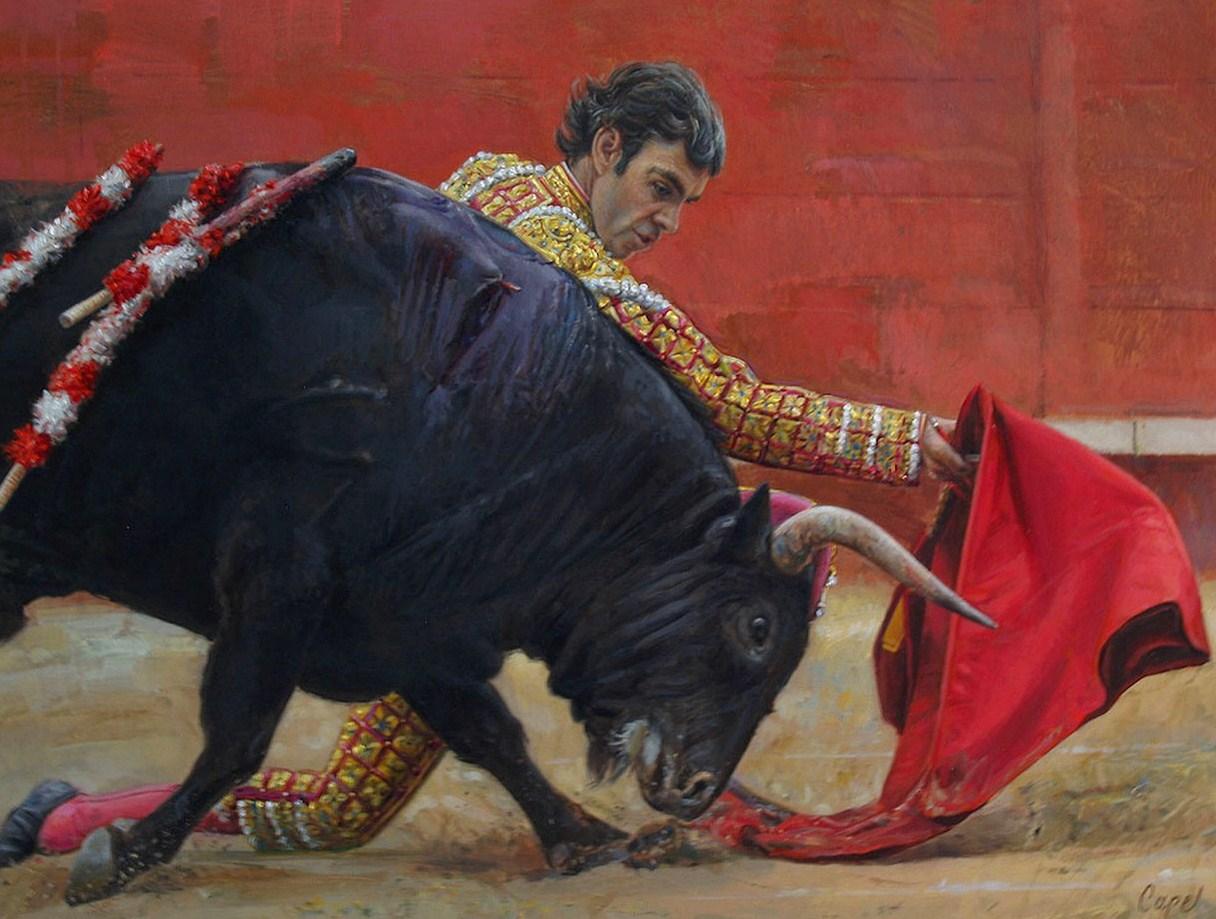 pintura corridas de toros cuadros de corridas toros pintados en