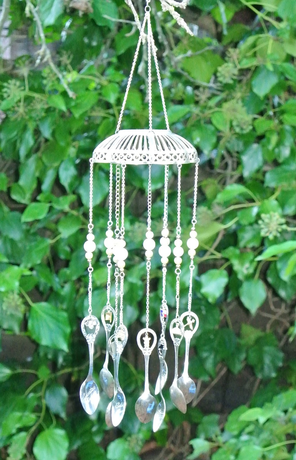 sarahracha wind chimes made from recycled items