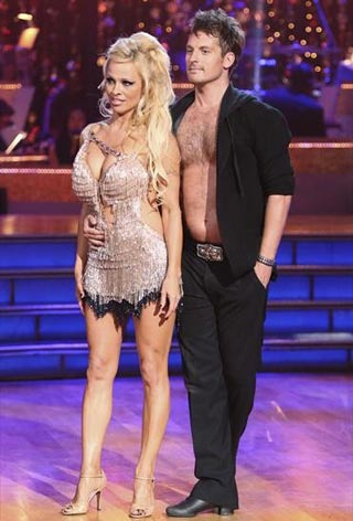 pamela anderson dancing with the stars - photo #1