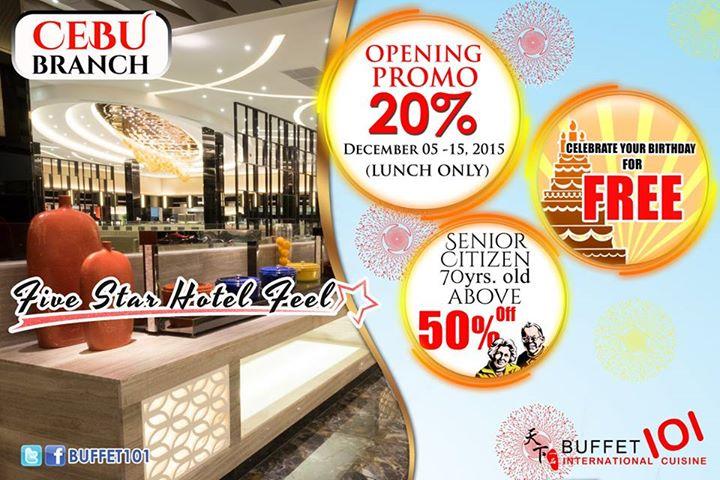Buffet-101-Cebu-Opening-Promo