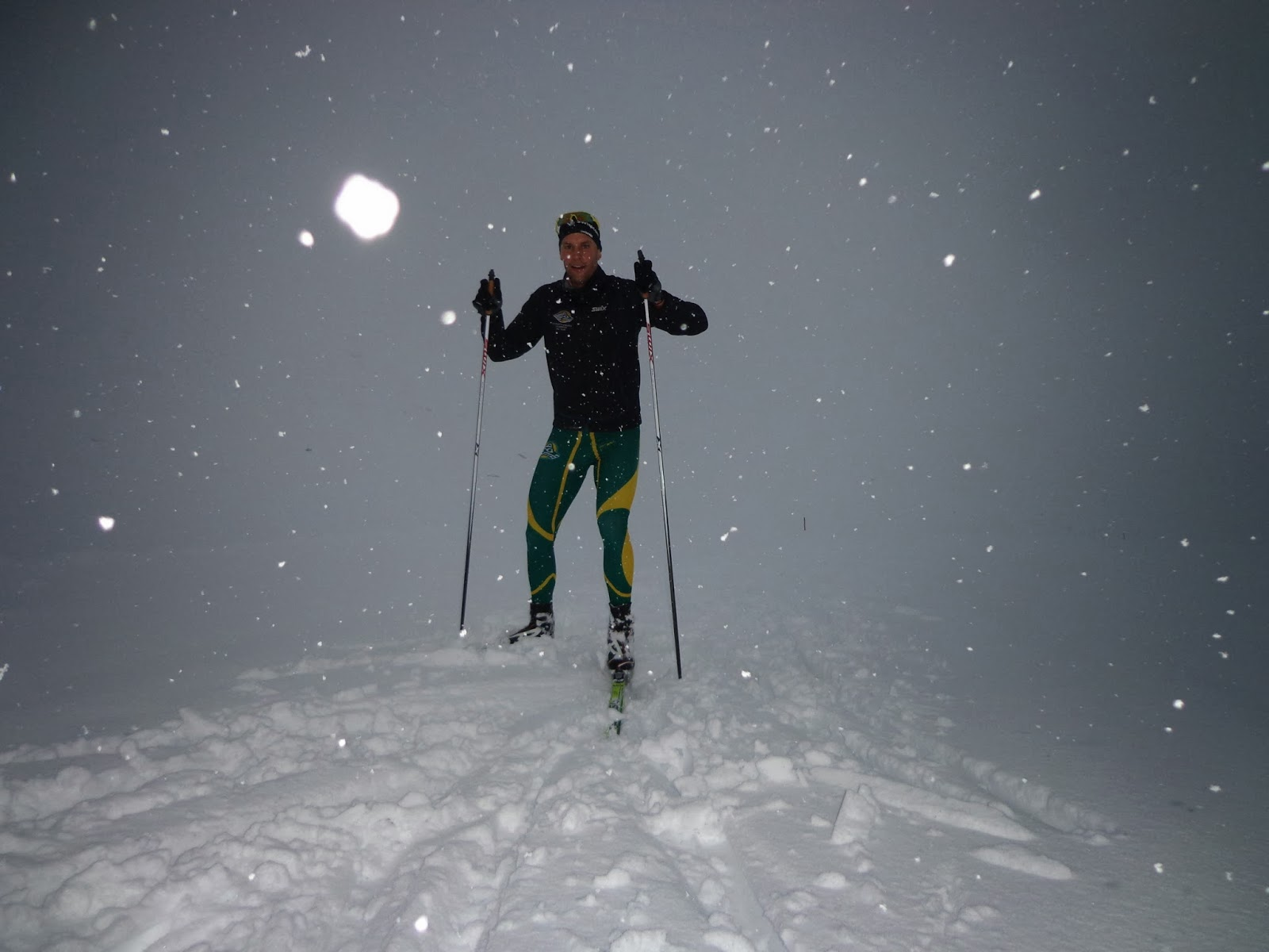 UAA Nordic Ski Team: Flat Light