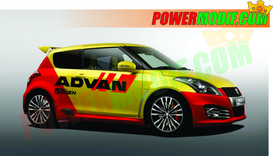 This is a modified picture of suzuki swift racing style theme with this concept are expected later to your vehicle could be more cool indeed many concept