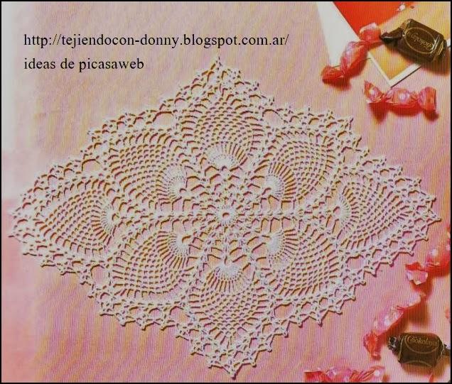 Carpetas cuadradas crochet patrones - Imagui