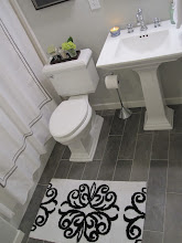 GUEST BATHROOM<br> {click pic to see more of this space}