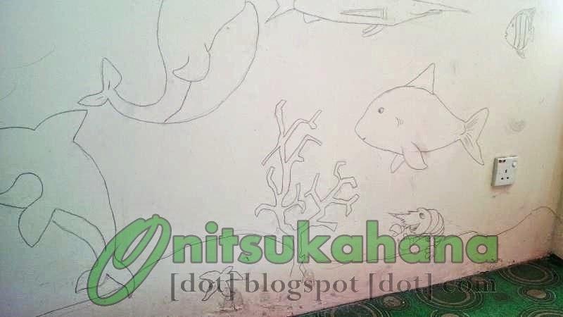 Mural hidupan laut hijau itu duniaku for Mural hidupan laut