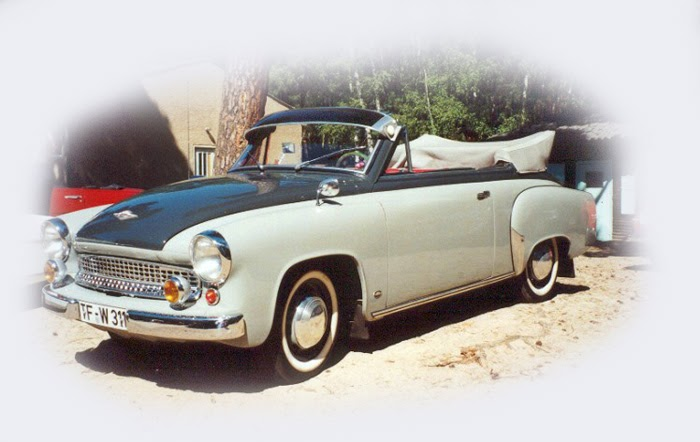 piniulimodels wartburg 311 cabrio 1959 deagostini ist. Black Bedroom Furniture Sets. Home Design Ideas