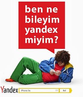 Ben Ne Bileyim Yandex Miyim