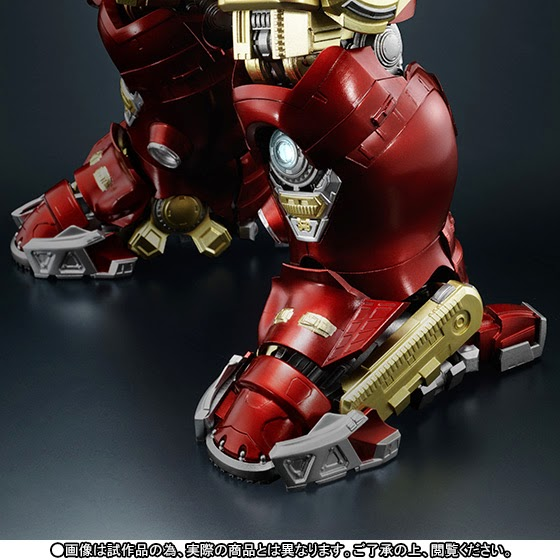 super alloy hulkbuster avengers team action figure