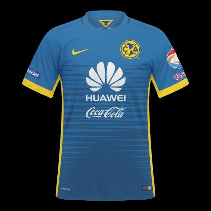 Camisas América México 2015   2016 - Home e Away. Home. Away. Material  Esportivo  Nike a1f8d5d1017b3