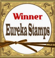 WINNER OVER AT EUREKA STAMPS
